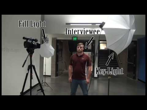 How to Set Up a Tota Light Kit for Interview Lighting & How to Set Up a Tota Light Kit for Interview Lighting - YouTube