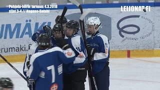 Huippuhetket Nagano-Sotshi sijat 3-4 // Pohjola-leirin turnaus 4.3.2018