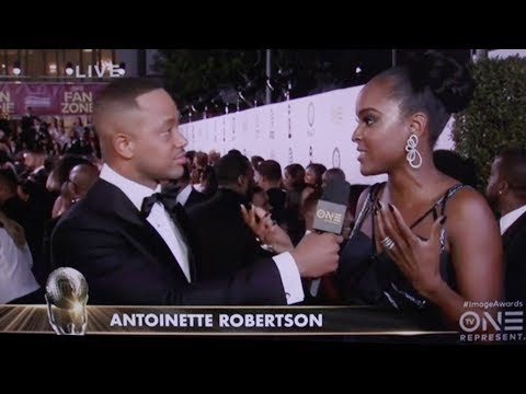 Antoinette Robertson  2018 Red Carpet : NAACP  Awards
