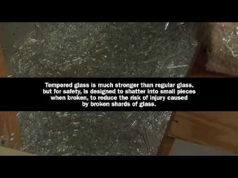 Nice Laminated Safety Glass Storm Door Demo