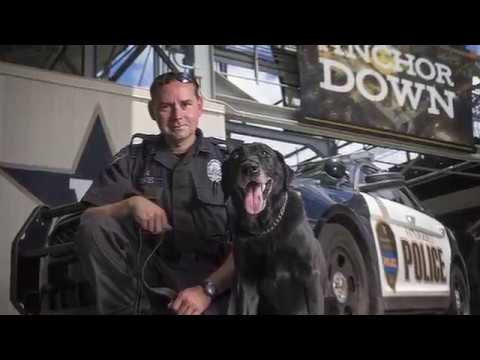 K9 Officer Corporal Gauge Retires
