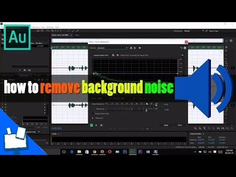 How to Remove Background Noise In Adobe Audition CC 2015