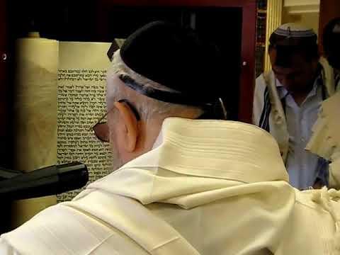 קריאה בתורה מפי מרן הרב עובדיה יוסף זצוק'ל