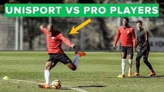 EPIC football Challenge & forfeit vs pro players - can we beat them?