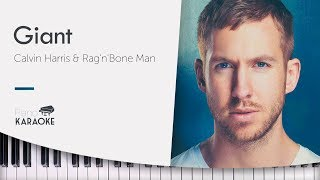 Baixar Calvin Harris - Giant (Karaoke Piano Instrumental) Rag'n'Bone Man [Original Key]