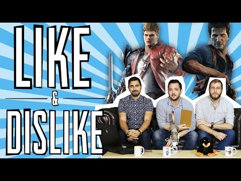 LIKE & DISLIKE: Uncharted 4 (o 2), Rise of Incarnates, Black Ops III, Minecraft Story Mode...