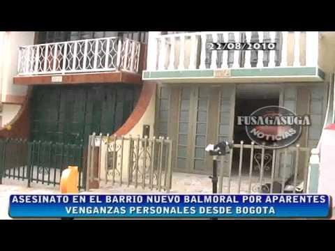 Fusagasuga Noticias. Asesinato en el Barrio Nuevo Balmoral de Fusagasugá en pleno dia.mp4