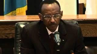 President Paul Kagame yatangaje ko u Rwanda rwiteguye kuburanisha Hissene Habre  - Radiyoyacu VOA