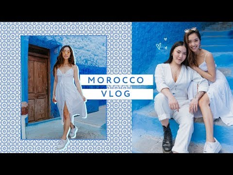 EXPLORING MOROCCO + Visiting the Blue City 💙🇲🇦