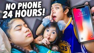 HIDING Nianas PHONE For 24 HOURS!! (Stress Na Siya haha)   Ranz and Niana