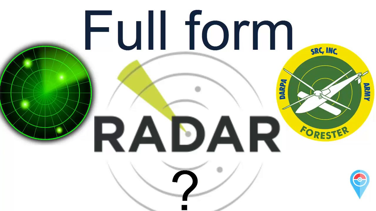 What is the full form of RADAR ? - YouTube