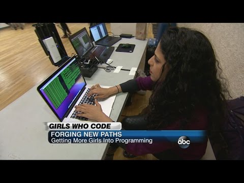 Girls & Tech: Efforts to Encourage Young Women into Programming