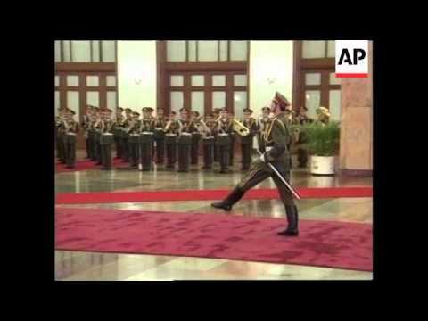 CHINA: BEIJING: CONGO PRESIDENT KABILA MEETS WITH JIANG ZEMIN