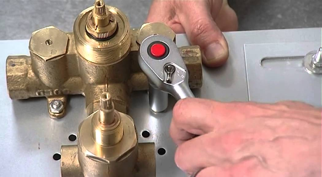 Attaching A Shower Valve And Fitting To The Wall Stud - Youtube