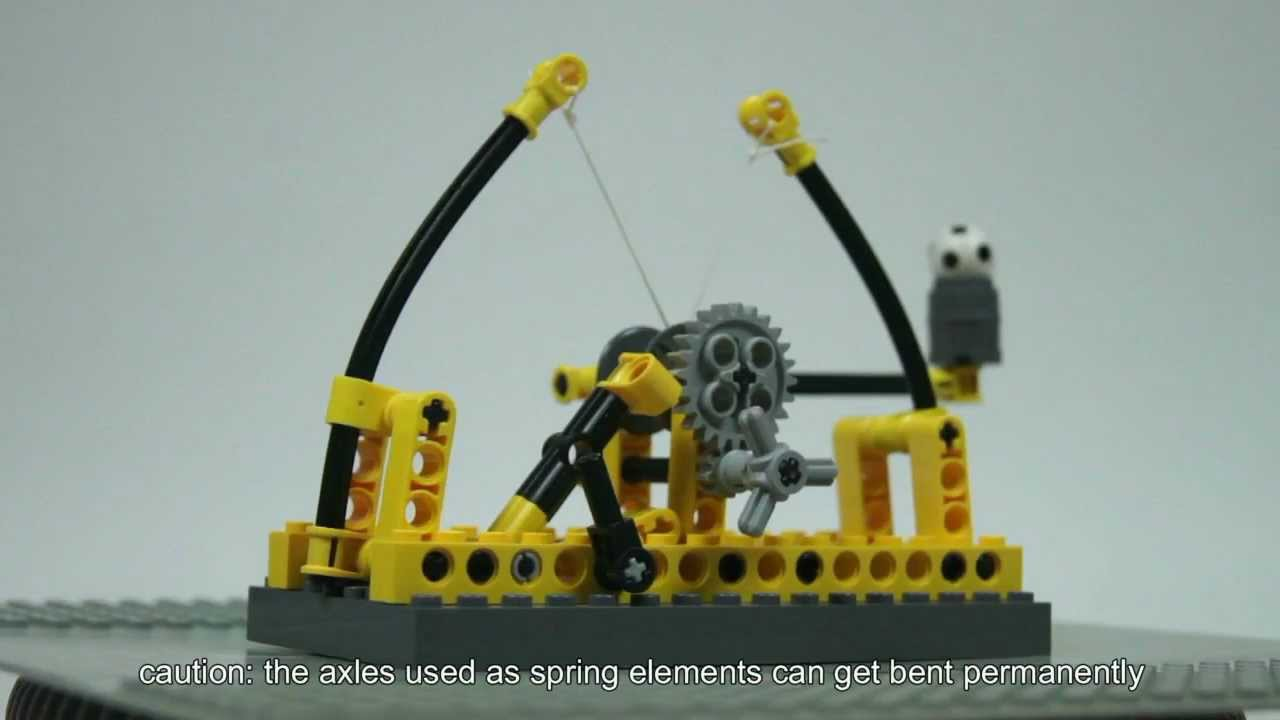 Lego Da Vincis Catapult Youtube