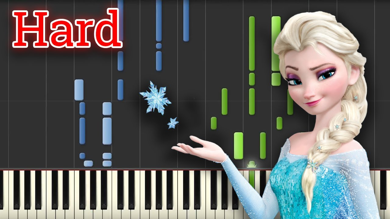 For the First Time in Forever - Frozen (Piano Tutorial) [HARD]