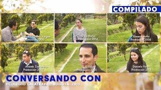 CONVERSANDO CON EXALUMNOS//COLEGIO CALATRAVA 2015