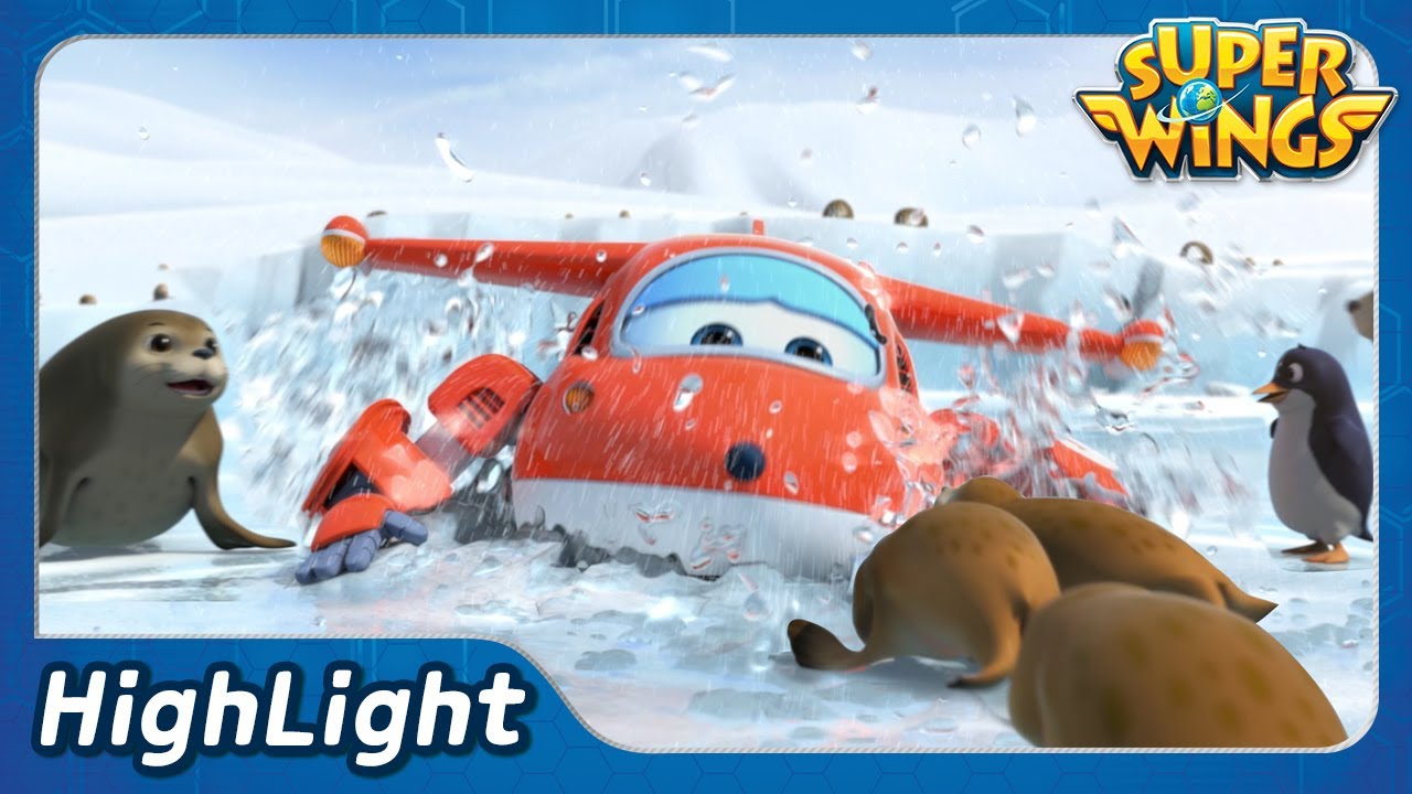 Very Special Delivery 1(South Korea) | SuperWings Highlight | EP37