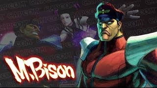M. Bison Balance Changes - Ultra Street Fighter IV Gameplay Demo