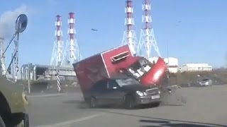 Tragic accident in Russia March 2017 Car crash compilation