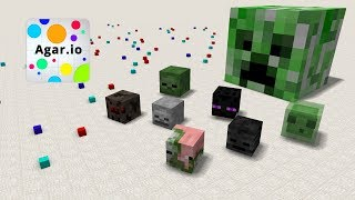 Video Monster School : Agar.io -  Minecraft Animation download MP3, 3GP, MP4, WEBM, AVI, FLV Oktober 2018