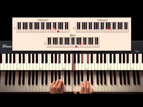 How to Play: Jealous - Labrinth (part 1). Original Piano tutorial by Piano Couture