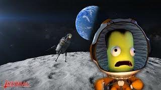 Kerbal Space Program - Летим на спутник Марса! Настоящая экспедиция!