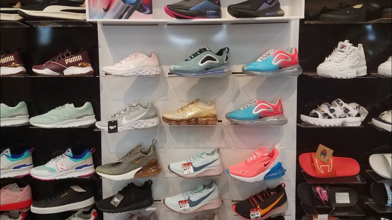 SHOP WITH ME SHOES (HIBBETTS) - YouTube