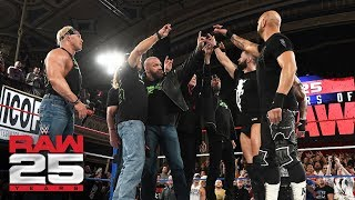"D-Generation X and Scott Hall share a ""Too Sweet"" moment with The Bálor Club: Raw 25, Jan. 22, 2018"