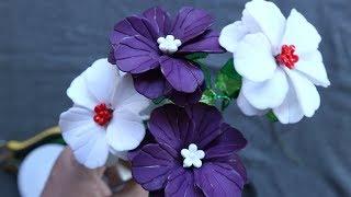 Membuat bunga dari akrilik untuk pemula