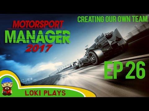 🚗🏁 Motorsport Manager PC - Lets Play EP26 - time travel - Loki Doki Don't Crash