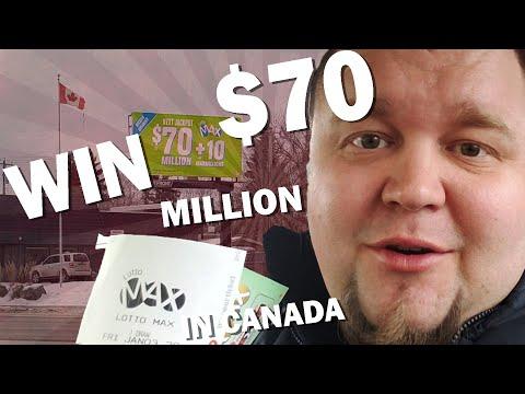 Lotto Max Lottery 70 Million Dollar Jackpot