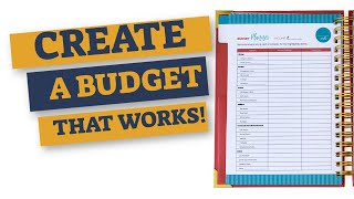 HOW TO START A BUDGET THAT ACTUALLY WORKS |  MY BUDGET PLANNER