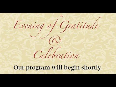 An Evening of Gratitude and Celebration