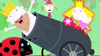 Ben and Holly's Little Kingdom | CANNON... King? | Kids Video