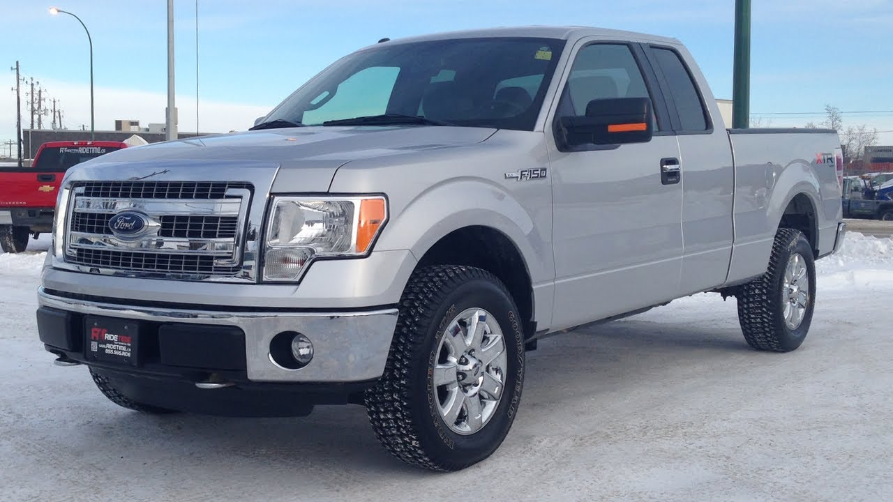 1 owner used truck for sale in winnipeg 2013 ford f 150 xlt xtr supercab 4x4 from ride time youtube