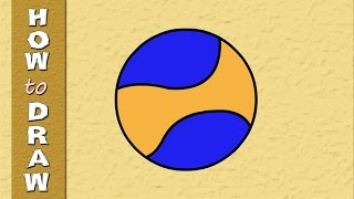 Drawings for kids | Kids Drawings Series | How to draw a BALL | Episode 5