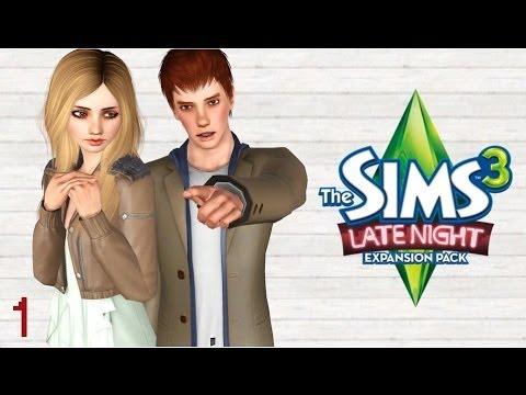 Let's Play: The Sims 3 Late Night 1 - In Which Cade Is A Sexy Beast
