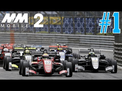 Motorsport Manager Mobile 2 Career Mode - Part 1 FIRST RACE CHAOS!