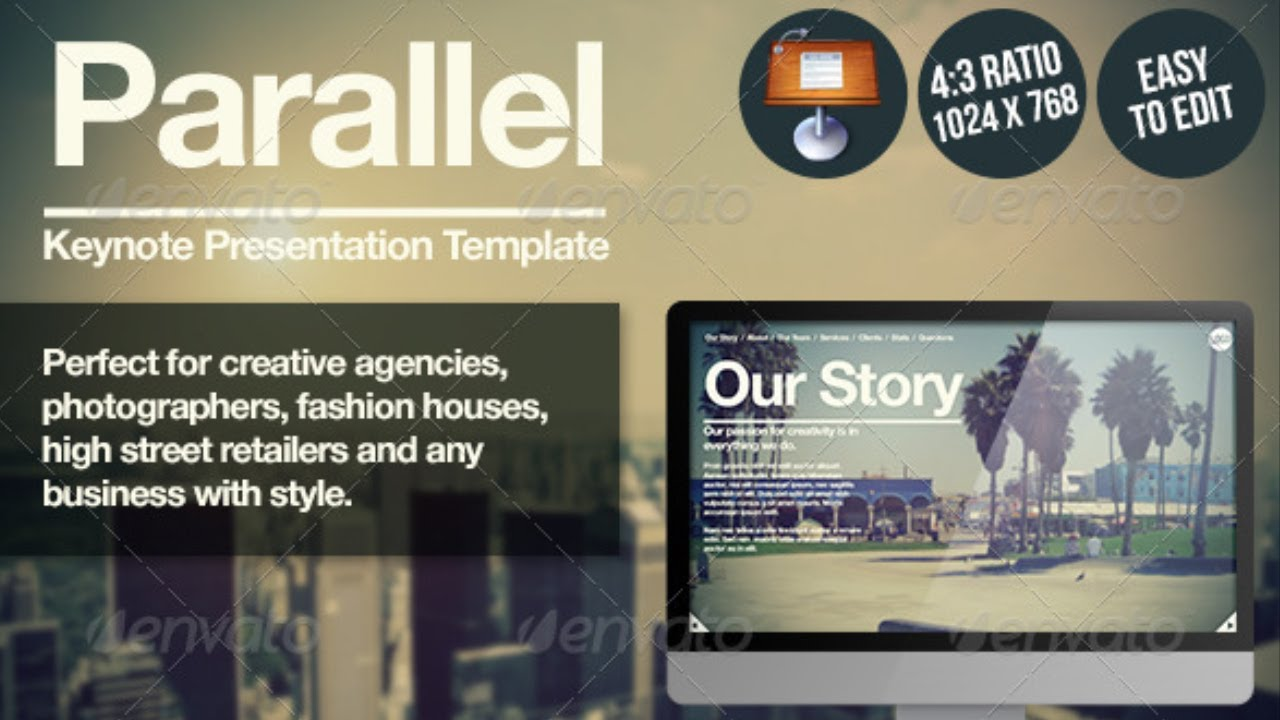Parallel keynote presentation free template youtube maxwellsz