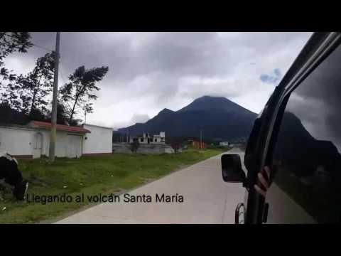 """Climbing Santa María volcano """"""""I ❤ Guatemala"""""""" 2017"""