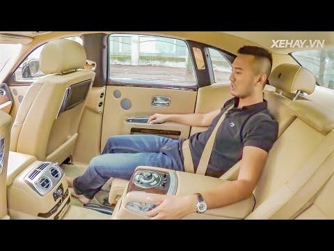 Trải nghiệm làm ông chủ trên sedan siêu sang Rolls-Royce Ghost series I giá 11 tỷ |XEHAY