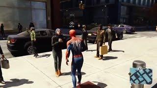 Türbanlı Kadının Hareketleri (Spiderman ps4)