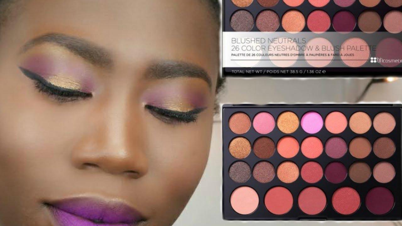 Dark Rose Eyeshadow And Blush Palette by BH Cosmetics #19