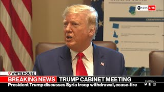 Trump: US never agreed to protect Kurds in Syria l ABC News