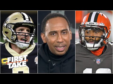 Stephen A.'s thoughts on Drew Brees' early struggles & Odell's expectations this season | First Take