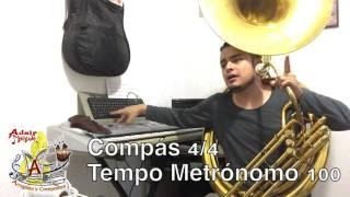 """Como Dominar una Articulación en la Tuba - Adair Moreno """"Tuba"""" Parte 1"""