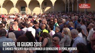 Ponte Morandi, tensione tra cittadini e sindaco Bucci: