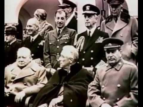 Какую загадку загадал Сталин Рузвельту и Черчиллю на Ялтинской конференции в 1945 году (§ 2.39)