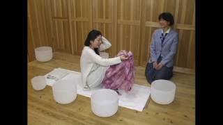 クリスタルボウル奏者 音香さん インタビュー 吉元かりん